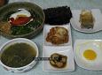 새순 나물로 만든 비빔밥