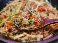 새싹채소 비빔밥~~아삭아삭 식감부터 맛있다