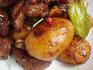 바쁠 땐 캔요리로, 알감자와 돼지고기 조림