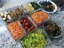 비빔밥용 나물-감자채무침,애호박볶음,가지무침,참비름나물무침