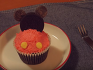 ★미키마우스 컵케익 만들기