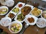 남편을 응원 온 형제들을 위한 건강한 식탁