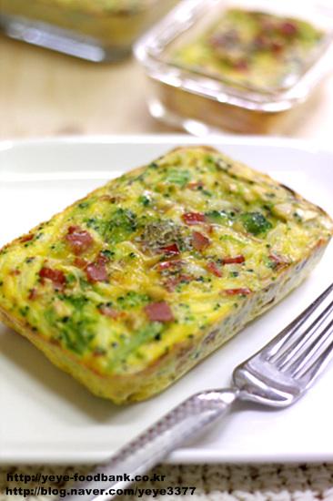 달걀야채오븐구이-영양듬뿍 간식..