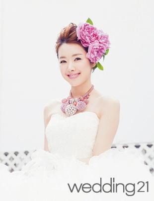 햇살처럼 아름다운 배우 소이현의 웨딩스토리