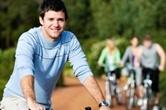 계획임신하려는 남성, 자전거 탈 때 조심