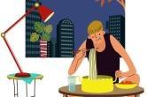 [1분 Q&A] 밤 늦게 먹으면 정말 살이 더 찔까?